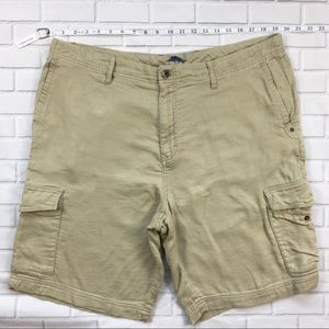 Men's Tommy Bahama Cargo Shorts Sz 38 Tan